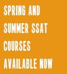 SSAT Courses Available Now